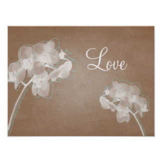 Orchid Love Poster
