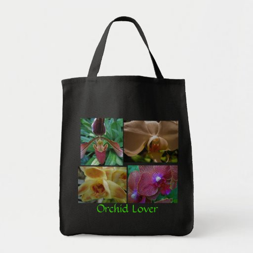 Orchid Lover Canvas Bag