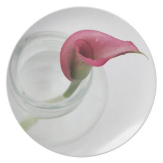 Orchid Melamine Plate
