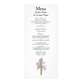 Orchid Modern Simple Elegant WeddingIdeas Rack Card