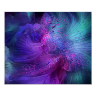 Orchid Moods 3 Fine Art Poster/Print Poster