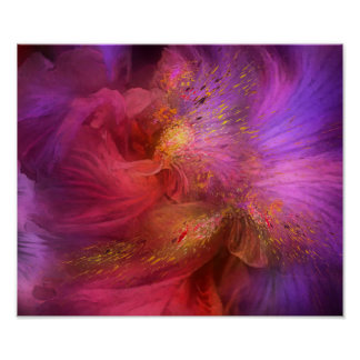 Orchid Moods Fine Art Poster/Print Poster