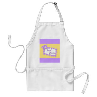 Orchid Mother's Day Adult Apron