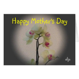 Orchid Mother's Day Card 2