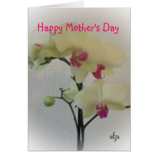 Orchid Mother's Day Card 3
