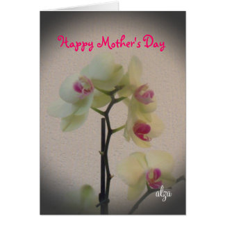 Orchid Mother's Day Card 4