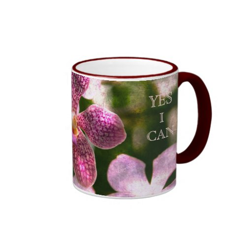 Orchid Mystery Yes I Can mug