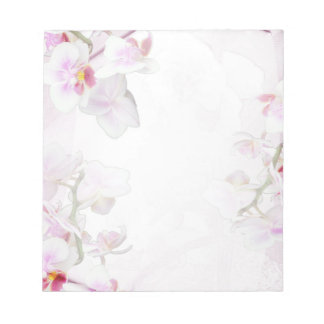 Orchid notepad