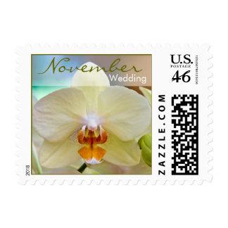 Orchid • November Wedding Stamp