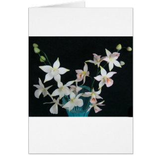 Orchid of Sugar Stationery Note Card