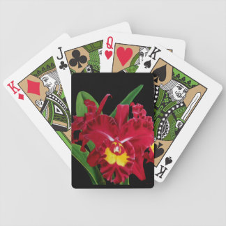 Orchid Oil Painting Playing Cards