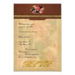 "Orchid - Oncidium Orchid - Eye Candy 3.5"" X 5"" Invitation Card"