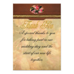 "Orchid - Oncidium Orchid - Eye Candy 5"" X 7"" Invitation Card"