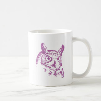 orchid owl coffee mug