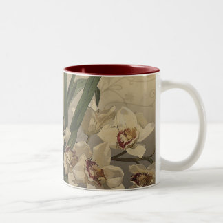 Orchid Painting Coffee Mug
