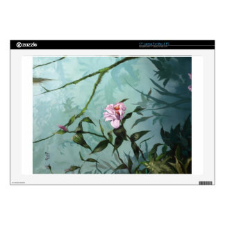 "Orchid Painting- 17"" Laptop Skins"