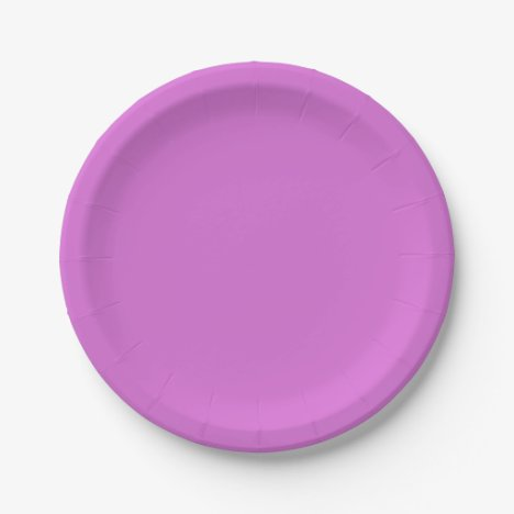 Orchid Paper Plates