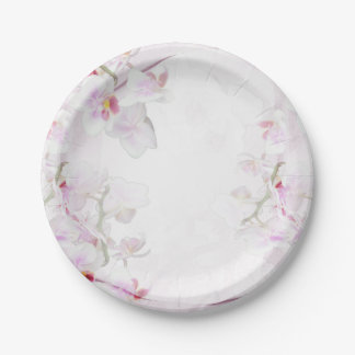Orchid paper plates 7 inch paper plate