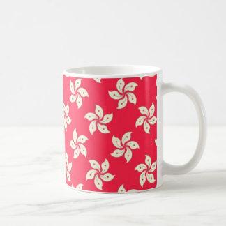 Orchid Pattern Coffee Mug