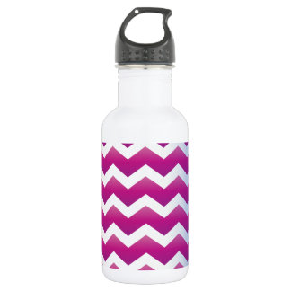 Orchid Pearl Chevron Water Bottle