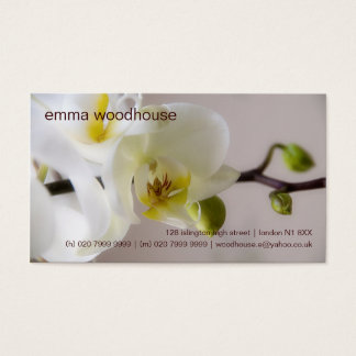 Orchid • Personal Business Card