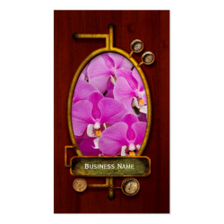 Orchid -  Phalaenopsis - Tickled pink Business Card Templates