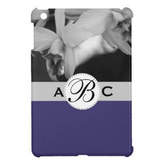 Orchid Photo Plum Monogram Case iPad Mini Cover
