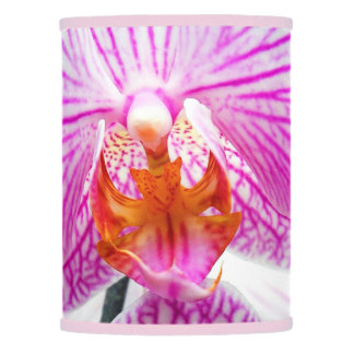 Orchid Pink Asian Flower Floral Lamp Shade