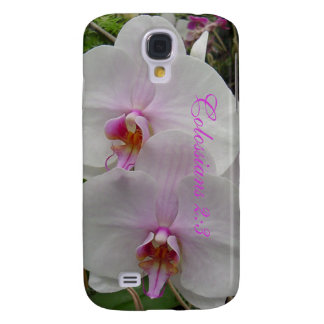 Orchid - Pink Blossom (Colossians 2:3) Galaxy S4 Case