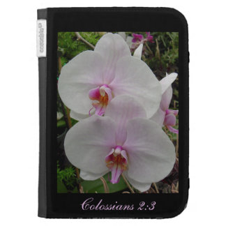 Orchid - Pink Blossom (Colossians 2:3) Kindle Cases