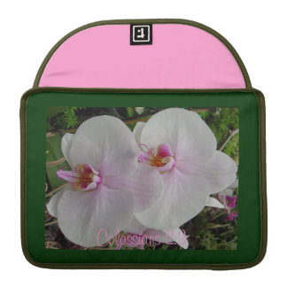 Orchid - Pink Blossom (Colossians 2:3) Sleeve For MacBook Pro