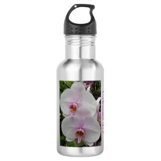 Orchid - Pink Blossom (Colossians 2:3) 18oz Water Bottle
