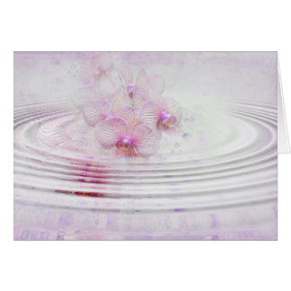 Orchid Pink Stationery Note Card