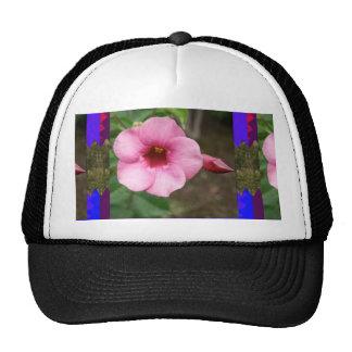 ORCHID pink flower n BUD Love Dating Children Kid Hat