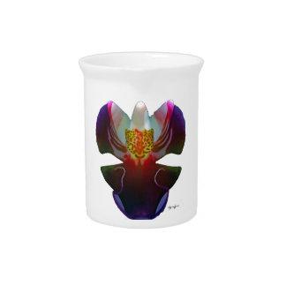 Orchid Beverage Pitcher