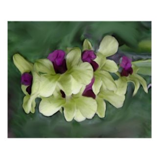 Orchid Print print