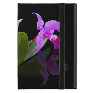 Orchid Reflected On Black Powis Ipad Mini Case at Zazzle
