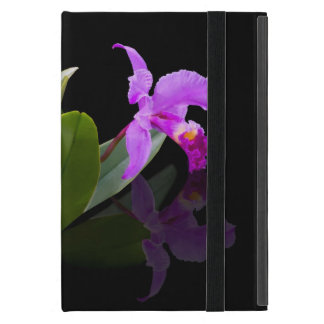 Orchid Reflected on Black Powis iPad Mini Case