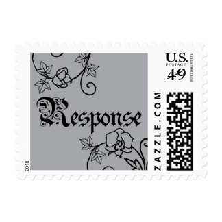 Orchid Response Postage Stamps