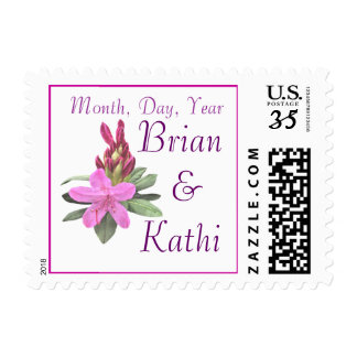 Orchid Rhododendron Stamp-any occasion Postage