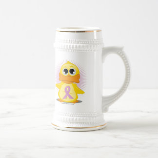 Orchid Ribbon Duck Beer Stein