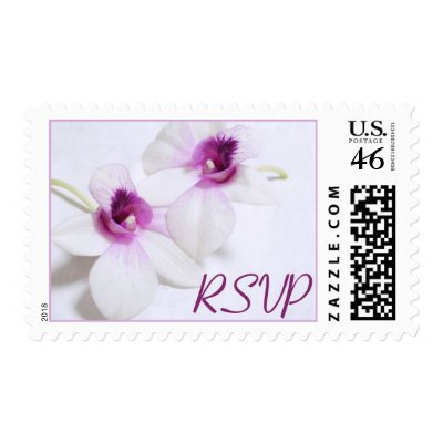 Orchid RSVP stamps $ 21.00