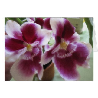 Orchid s Perfume Watercolor Card