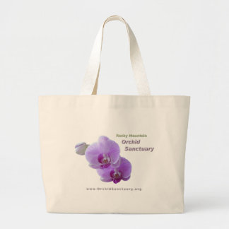 Orchid Sanctuary Jumbo Tote Tote Bag