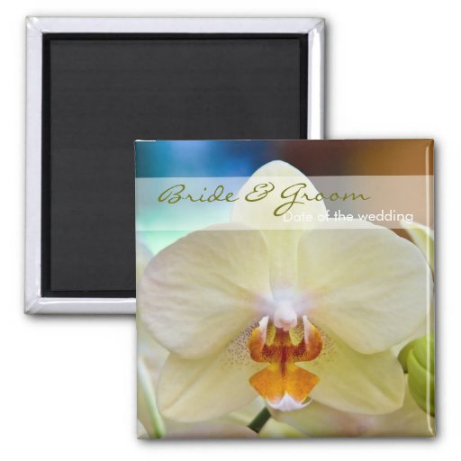 Orchid • Save the Date Magnet