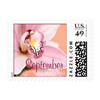Orchid • September Wedding Stamp