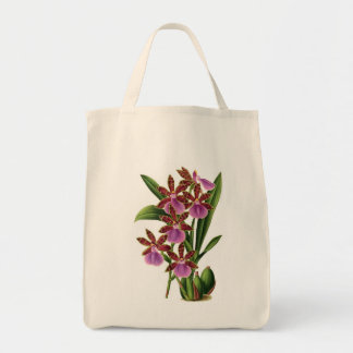 Orchid Shopping Tote Bag