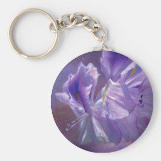 Orchid Sky Art Keychain