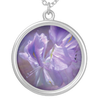 Orchid Sky Wearable Art Necklace