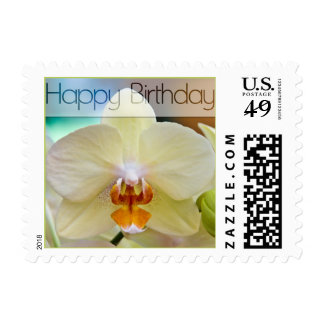 Orchid • Small Birthday Stamp
